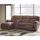 Coahoma 4-Piece Reclining Sectional with Chaise