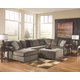 Jessa Place 3-Piece Sectional with Ottoman