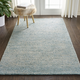 Nourison Weston Light Blue 4'x6' Contemporary Area Rug