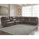 Dak 7-Piece Reclining Sectional with Power