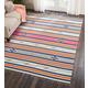 Nourison Baja White Multicolor 8'x10' Large Flat Weave Rug