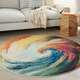 Nourison Celestial CES07 Multicolor 4'x6' Colorful Area Rug