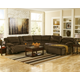 Toletta 6-Piece Reclining Sectional with Chaise and Power