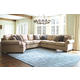 Amandine 5-Piece Sectional with Cuddler