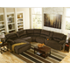 Toletta 6-Piece Reclining Sectional with Chaise Non-Power