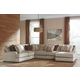 Arminio 4-Piece Sectional with Chaise