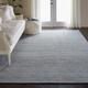 Nourison Weston Light Blue 8'x11' Oversized Textured Rug