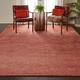 Nourison Weston Red 8'x11' Oversized Textured Rug