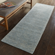 Nourison Weston Light Blue 8' Runner Textured Hallway Rug