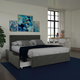 DHP Atwater Living Ryder Velvet Full Upholstered Bed with Storage