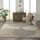 Nourison Aloha 8'x11' Cream Patio Area Rug