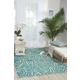 Nourison Aloha Blue 8'x11' Oversized Indoor-outdoor Rug