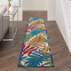 Nourison Aloha Multicolor 12'xRunner Indoor-outdoor Rug