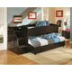 Embrace Loft Bed with Caster and Left Steps
