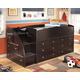 Embrace Loft Storage Bed with Left Steps