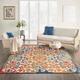 Nourison Aloha 8'x11' Multicolor Easy-care Indoor-outdoor Rug