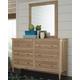 Klasholm Dresser and Mirror