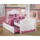 Exquisite Full Sleigh Bed with Trundle