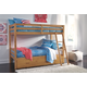 Hallytown Twin over Twin Bunk Bed with Storage