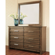 Morraly Dresser and Mirror