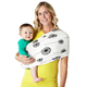 Baby K'tan PRINT Baby Wrap Carrier Extra Small