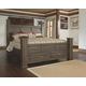 Juararo King Poster Bed with 2 Storage Drawers