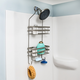 Honey-Can-Do Flat Wire Steel Shower Caddy