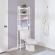 Honey-Can-Do Over-The-Toilet Bathroom Shelving Space Saver