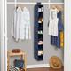 Honey Can Do Hanging Closet Organizer with Ten Shelves