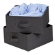 Honey Can Do Canvas Storage Drawers (Set of 2)