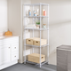 Honey Can Do Five Tier Adjustable Shelving Unit with 250-lb Shelf Capacity