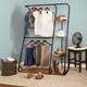 Honey Can Do Z-Frame Wardrobe with Shelves