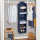 Honey Can Do Hanging Closet Organizer with Six Shelves