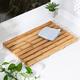 Honey-Can-Do Bamboo Bath Mat