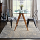 Nourison Charcoal and Beige 5'x7' Area Rug