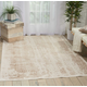 Nourison HomeSilver Screen Ivory and Gold 5'x7' Area Rug