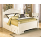Cottage Retreat Queen Poster Bed with Storage