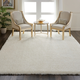 Nourison Luxe Shag White 8'x10' Large Rug