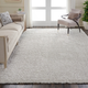 Nourison Luxe Shag Gray 8'x10' Large Rug