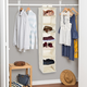 Honey Can Do Hanging Closet Organizer with Eight Shelves