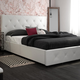 Atwater Living Dana Queen Upholstered Bed with Storage