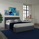 Atwater Living Ryder Queen Upholstered Bed with Storage