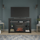 Ameriwood Ira Corner Fireplace TV Stand for TVs up to 55