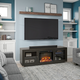 Ameriwood Emilia Fireplace TV Stand for TVs up to 75