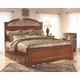 Fairbrooks Estate King Poster Bed with 2 Storages