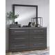 Steelson Dresser and Mirror