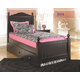 Jaidyn Twin Poster Bed with Trundle