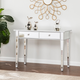 Bellah Mirrored 2-Drawer Console Table