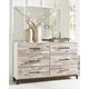 Evanni Dresser and Mirror