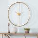 Lenora Large Metal Clock